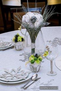 Papierowe dekoracje ślubne i weselne
